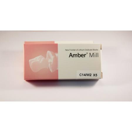 C14/W2 Blocuri disilicat de lithium AMBER MILL