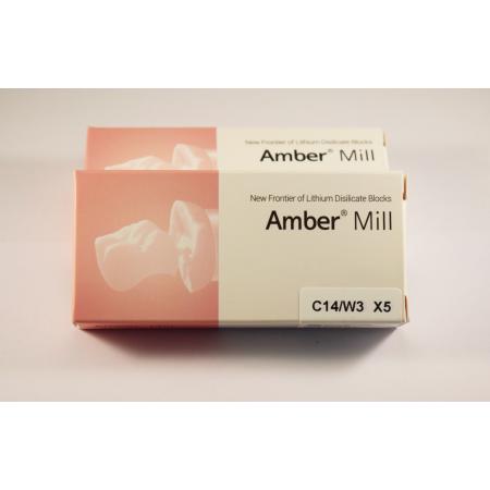 C14/W3  Blocuri disilicat de lithium AMBER MILL