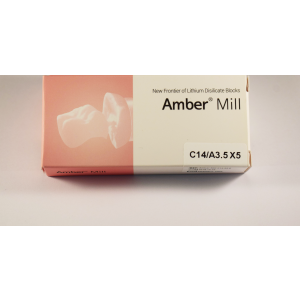 C14/A3.5  Blocuri disilicat de lithium AMBER MILL