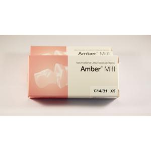 C14/B1  Blocuri disilicat de lithium AMBER MILL